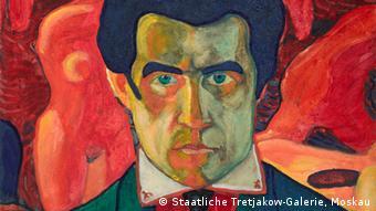 К. Малевич. Автопортрет, 1908–1910 гг.