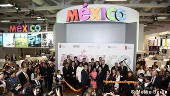Открытие экспозиции Мексики на ITB-2014
