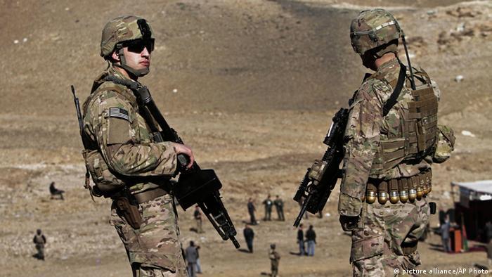Солдаты международной коалиции в Афганистане