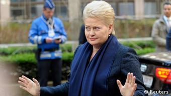 EU Krisengipfel zu Ukraine 06.03.2014 Brüssel Grybauskaite