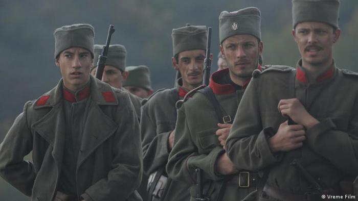 Кадр из фильма Герой 1914 года
