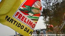 Mosambik Plakat der Partei Frelimo