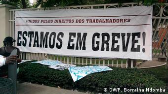 Angola Streik Krankenhaus