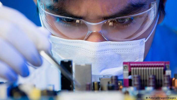 Symbolbild Computer Chip technology