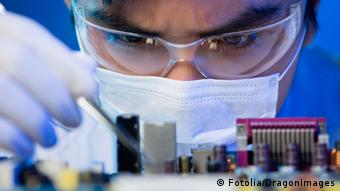 Electronic engineer at work (Photo: DragonImages)