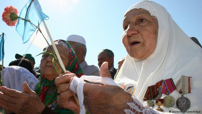 Крымские татары, фото из архива