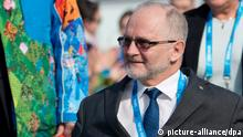 Philip Craven in Sotchi