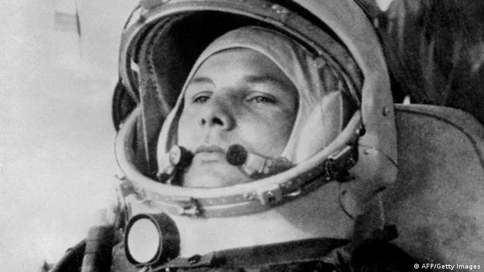 Gagarin a bordo do Vostok 1