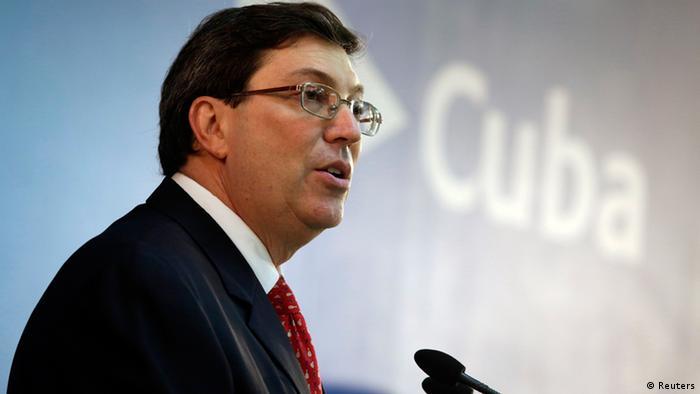 Kuba Außenminister Bruno Rodriguez