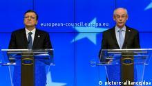 Ukraine Russland Krim-Krise Van Rompuy Barroso 06.03.2014