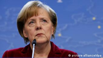 Angela Merkel (Photo: EPA/IAN LANGSDON)