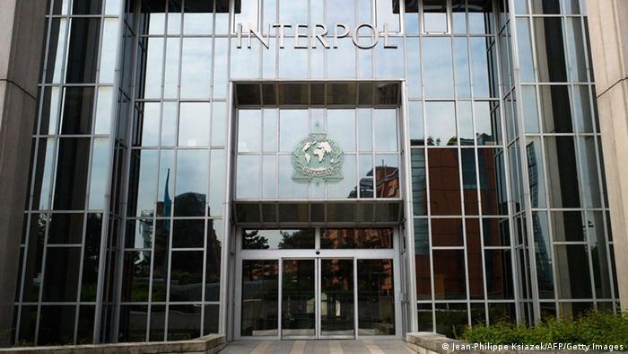 Interpol-Zentrale in Lyon (Jean-Philippe Ksiazek/AFP/Getty Images)
