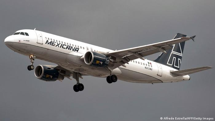 Plane from Mexicana (Alfrede Estrella/AFP/Getty Images)