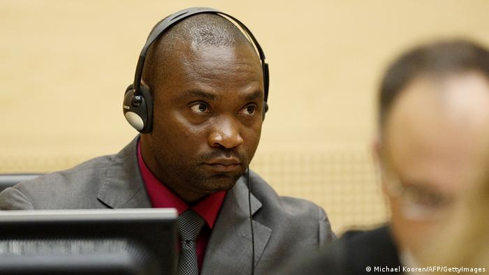 Germain Katanga vor dem Internationalen Strafgerichtshof in Den Haag (Foto: AFP)