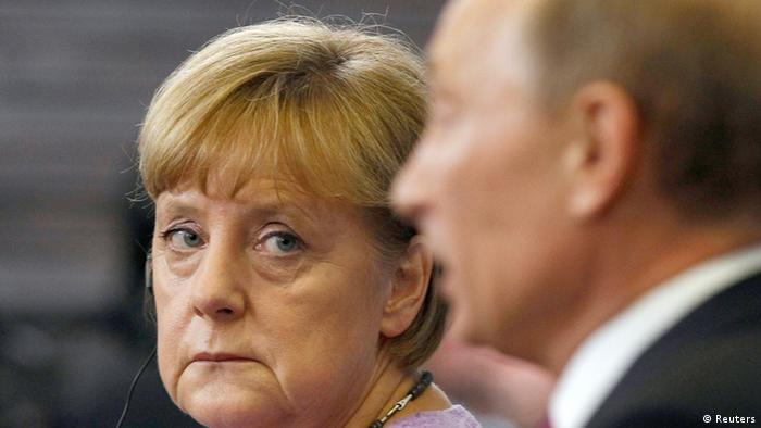 Merkel und Putin Archiv 21.06.2013 St. Petersburg