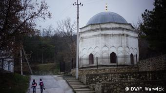 A mosque in Bakhchisaray in Crimea where Tartars worship.
