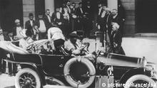 PT Erster Weltkrieg - Attentat auf Franz Ferdinand