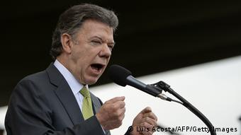 Kolumbiens Präsident Juan Manuel Santos (Foto: afp)