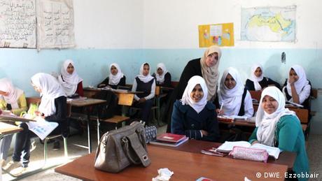 Schülerinnen in Libyen