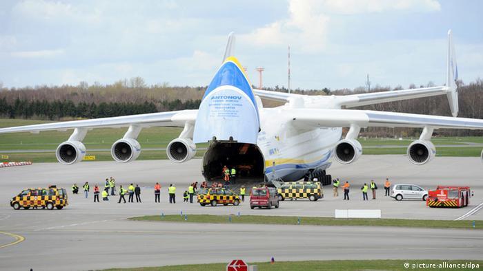 برای این هواپیمای آنتونوف نام رویا (Mrija) انتخاب شده است؛ هواپیمای باری ششموتوره که طول بالهایش به ۸۸ متر و ۴۰ سانتیمتر، ارتفاع ۱۸ متر و ۲۰ سانتیمتر و طول بدنه آن به ۸۴ متر میرسد. این هواپیما ۲۴۰ رکورد جهانی را در اختیار دارد که یکی از آنها حمل تجهیزات خط لوله نفت به وزن ۲۴۷ تن از پراگ به تاشکند در سال ۲۰۰۴ است.