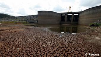 Trockenheit Brasilien Sao Paulo Wasser Damm