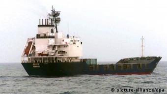 Iranisches Frachtschiff Klos-C