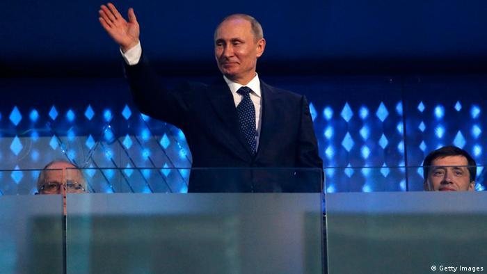 Putin en la inauguración de los Juegos Paralímpicos de Sochi.