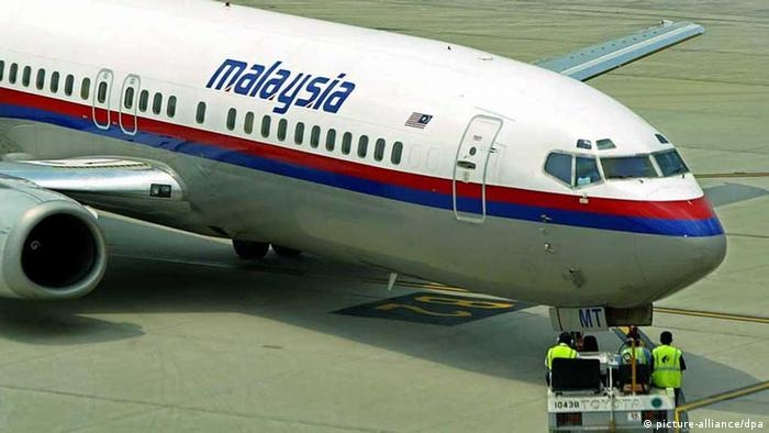 Boeing der Malaysia Airlines