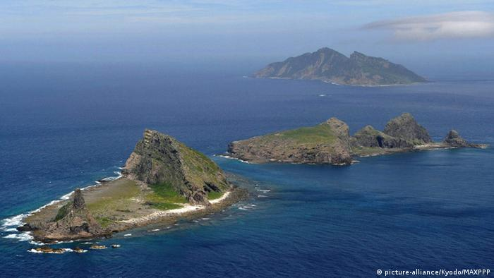 Senkaku Islands Japan (picture-alliance/Kyodo/MAXPPP)
