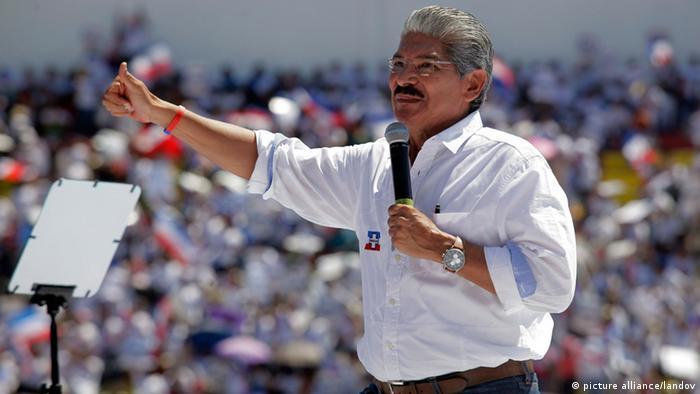 Wahlen in El Salvador Norman Quijano