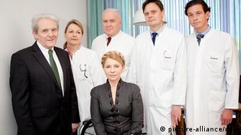 Юлия Тимошенко и врачи Charite, 2014 год