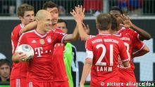 Fußball Bundesliga 25. Spieltag VfL Wolfsburg FC Bayern München