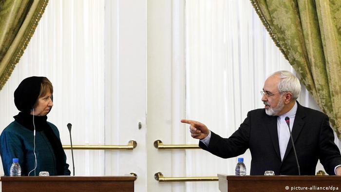 Catherine Ashton im Iran 9.3.2014