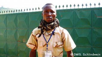 Zentralafrika Anti Balaka Sprecher Emotion