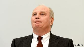 Uli Hoeness in court for first day of trial