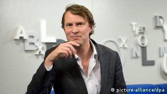 Journalist and author Luke Harding
