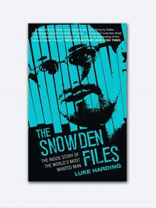 Book cover The Snowden Files by Luke Harding