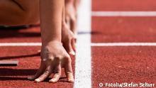 Symbolbild - Sprintstart