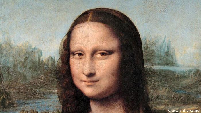 Mona Lisa (La Gioconda), de Leonardo da Vinci, en el Louvre de París.