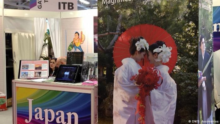 Gay Tourismus Stand Japan (DW/S. Assimenios)