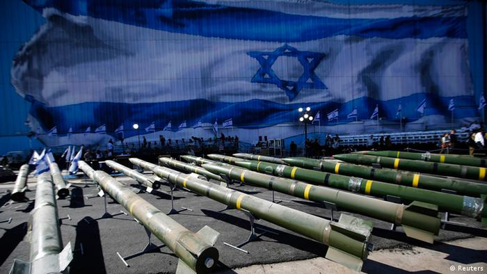 Israel Schiff Iran Rakete M 302 (Reuters)
