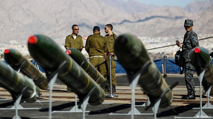 Israel Schiff Iran Rakete M 302