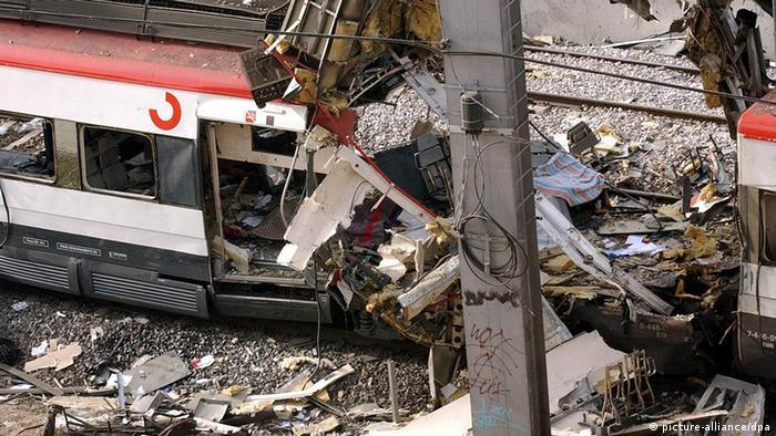Spanien Madrid Anschlag auf Vorortzüge 2004 Bahnhof Atocha