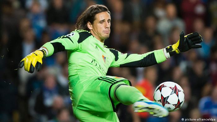 Yann Sommer zukünftiger Torwart Borussia Mönchengladbach