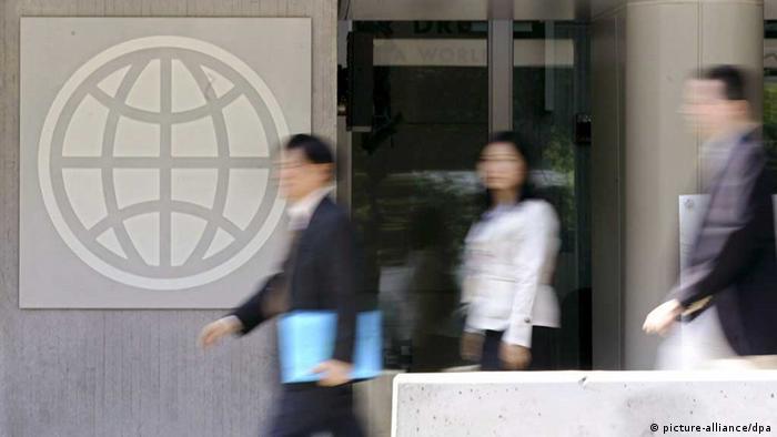 Weltbank / Washington / Zentrale / Logo