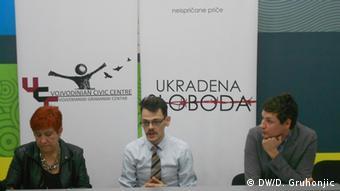 Željko Stanetić tokom predstavljanja projekta u Novom Sadu