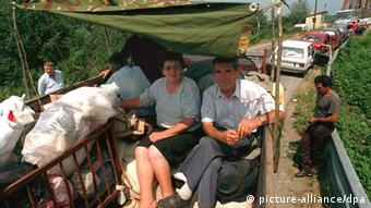 Srbi na kamionu u bijegu prije 20 godina