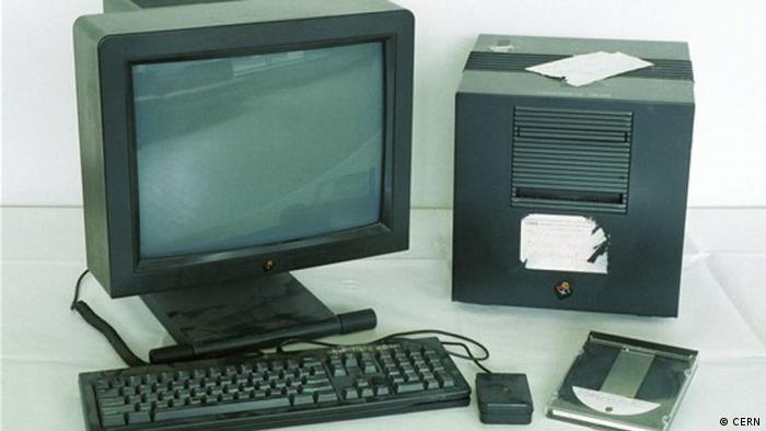 20 Jahre World Wide Web Erster Server (CERN)
