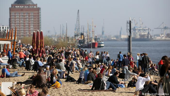 Frühling in Hamburg