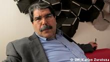 Stichwort: Kurden und die Syrien-Krise Copyright bild 1: Karlos Zurutuza, DW, Baskenland, März 2014 Salih Muslim is the co chair of the PYD, the dominant party among the Syrian Kurds